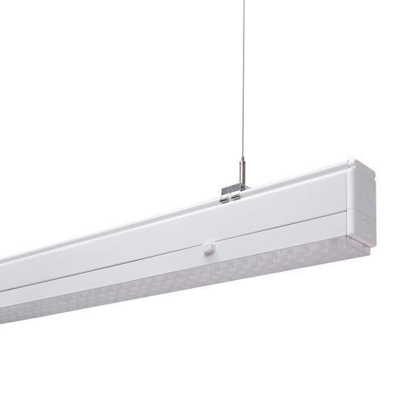 weiße Lichtbandleuchte DIAMANT PRO der Lifa - Die Lichtfabrik für den Einsatz in Industrie, Handel, Logistik etc.