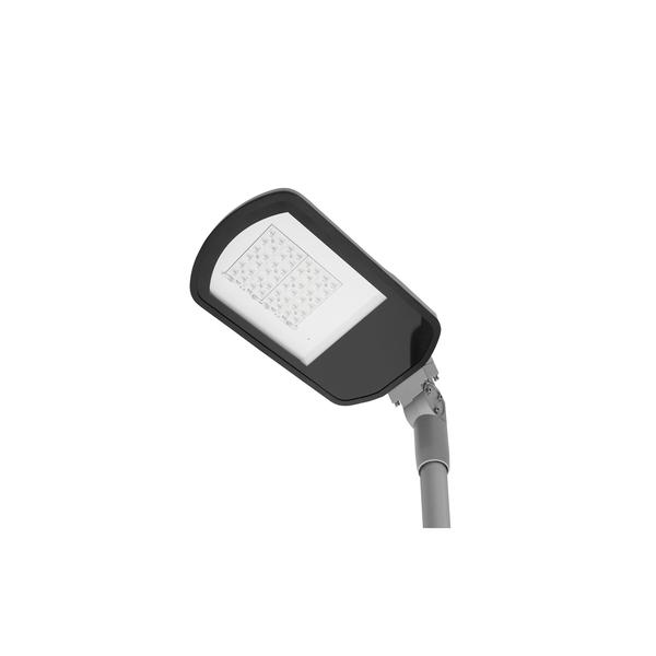 schlanke, formschöne und robuste LED-Straßen- bzw. Außenleuchte