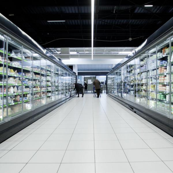 Anwendung des Lichtbandsystems DIAMANT im Handel