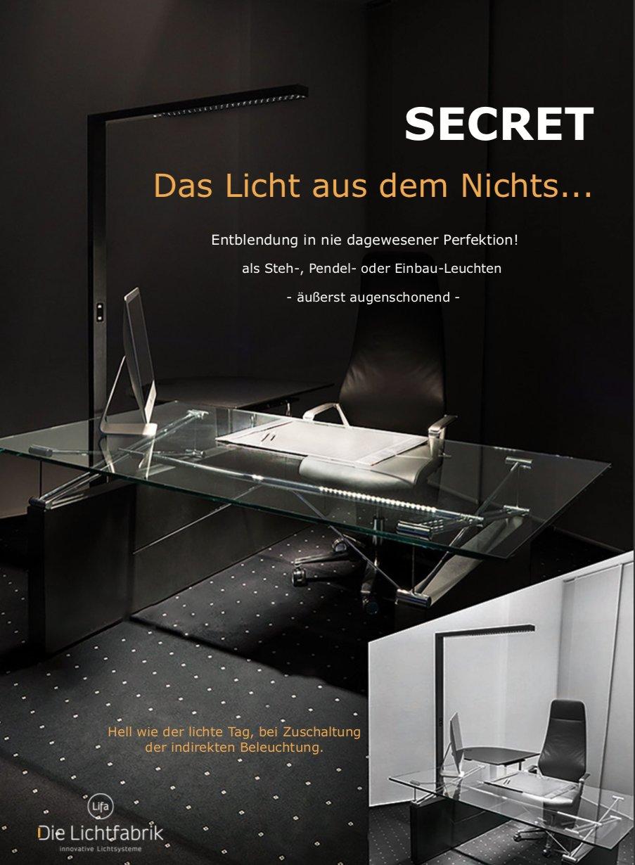 Das Licht aus dem Nichts...SECRET Broschüre